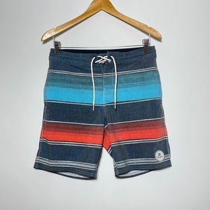 Billabong Recycler Board Shorts Striped Men's 28